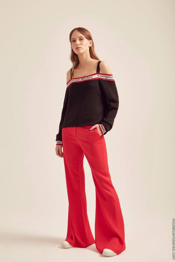 Pantalones primavera verano 2019 ropa de moda mujer.