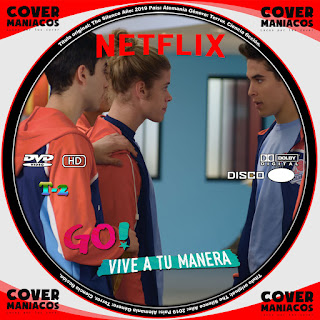 GALLETA 2 GO VIVE A TU MANERA 2019 TEMPORADA 2[[COVER DVD]