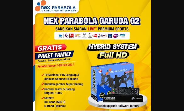 Receiver Nex Parabola Garuda G2 Terbaru