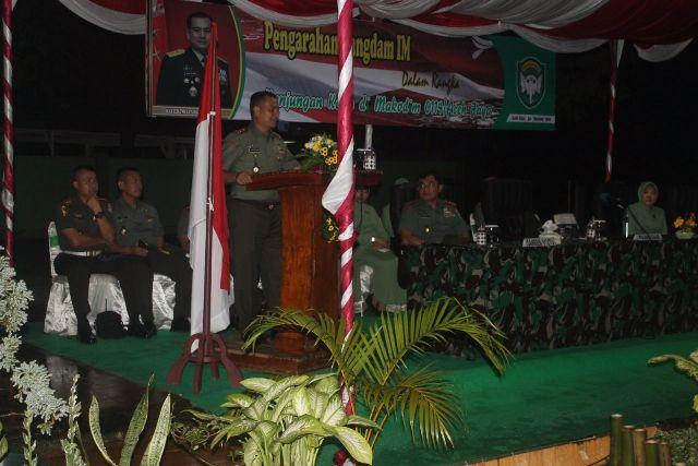 Pangdam IM Ajak Seluruh TNI Netral pada pilkada mendatang