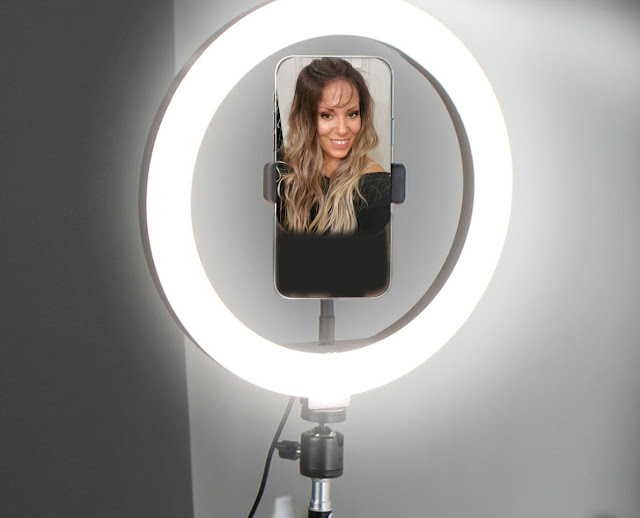 Best ring light by barbies beauty bits