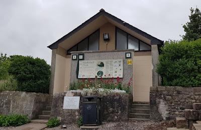 Public toilets at Sunderland Point