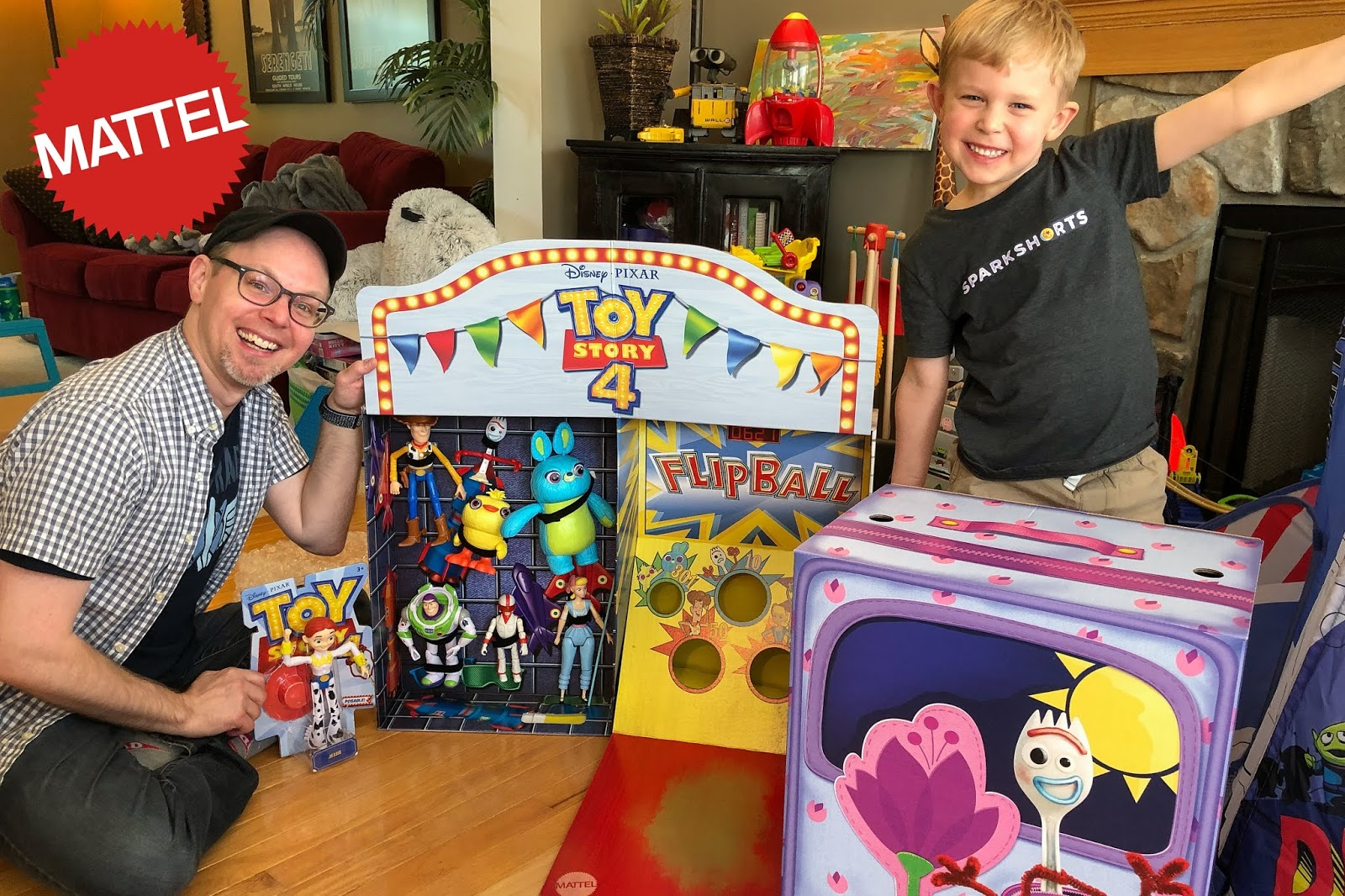 Carnival Toy Box Pink: Amazing 'Toy Story 4' Mattel Flip-Ball Promo Toy Unboxing