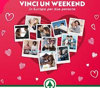 Logo Concorso ''Dedica l'Amore e vinci'': in palio gratis 3 cofanetti Smartbox