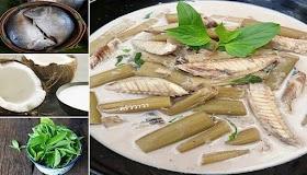 แจกสูตรแกงกะทิสายบัวปลาทูอาหารไทยโบราณ รสชาติละมุน ประโยชน์เยอะช่วยบำรุงกระดูก