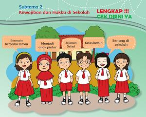 Subtema 2 Kewajiban dan Hakku di Sekolah kelas 3 tema 4 www.simplenews.me