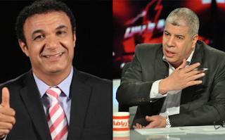 فيديو لحظة تعدي أحمد شوبير بالضرب علي أحمد الطيب علي الهواء ببرنامج العاشرة مساء