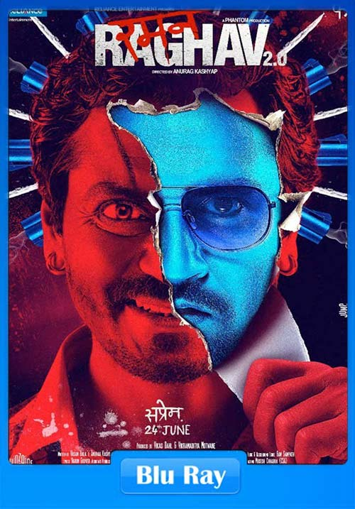 Raman Raghav 2.0.2016 Hindi 720p BluRay x264 | 480p 300MB | 100MB HEVC