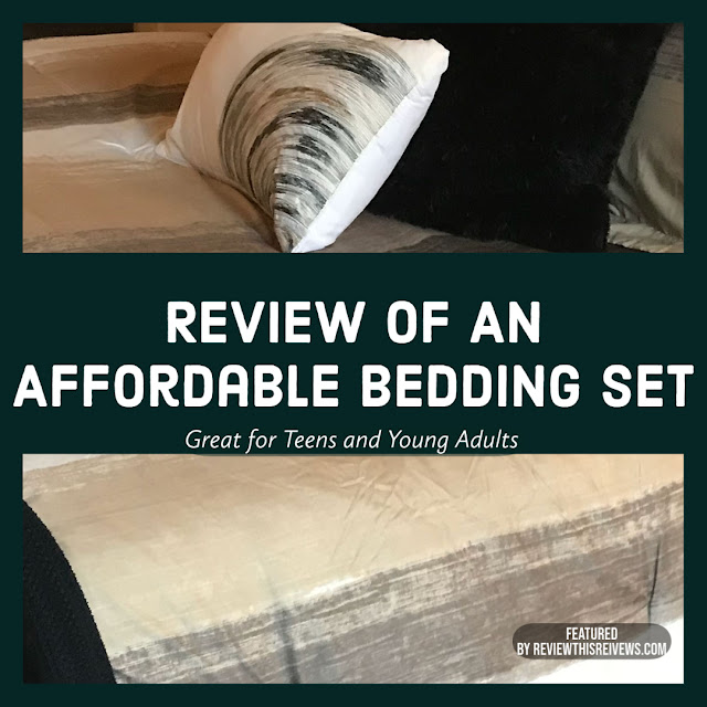 Review of An Affordable Bedding Set for Teens and Young Adults