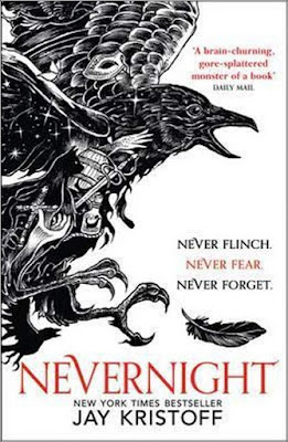 Nevernight by Jay Kristoff book cover