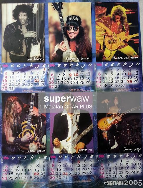 Poster Gitaris Dunia
