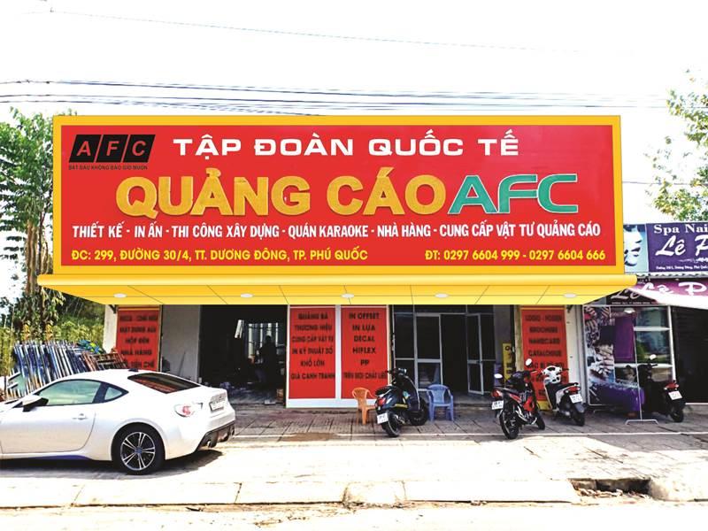 Giới thiệu về Công ty Quảng Cáo AFC Phú Quốc
