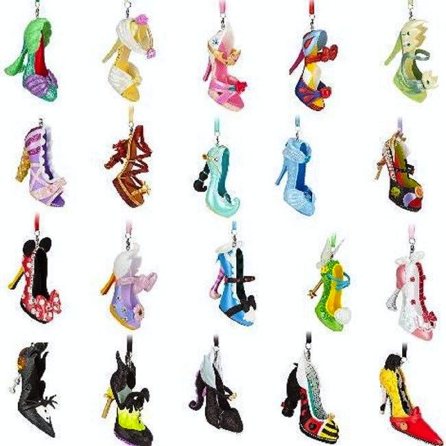 Disney S Runway Shoe Ornament Collection
