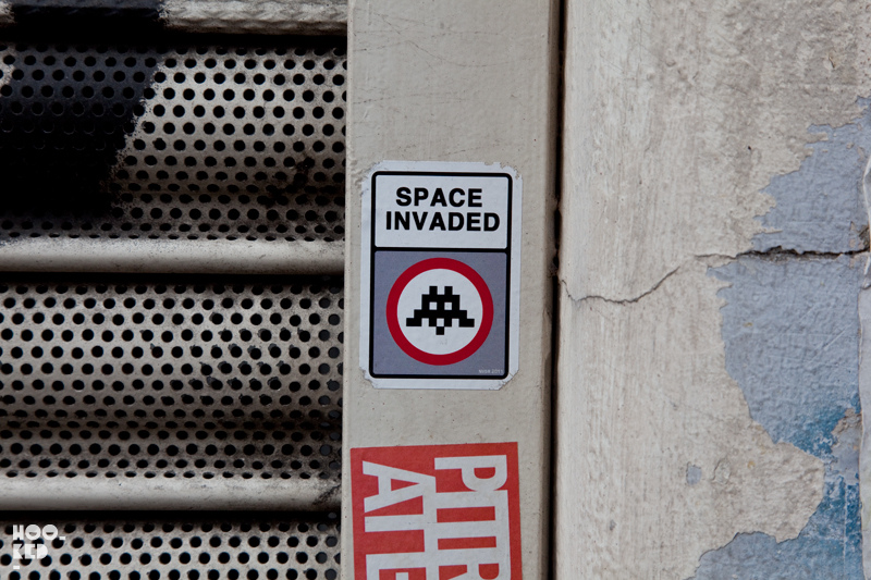 Street Artist Invader releases his ART4SPACE film