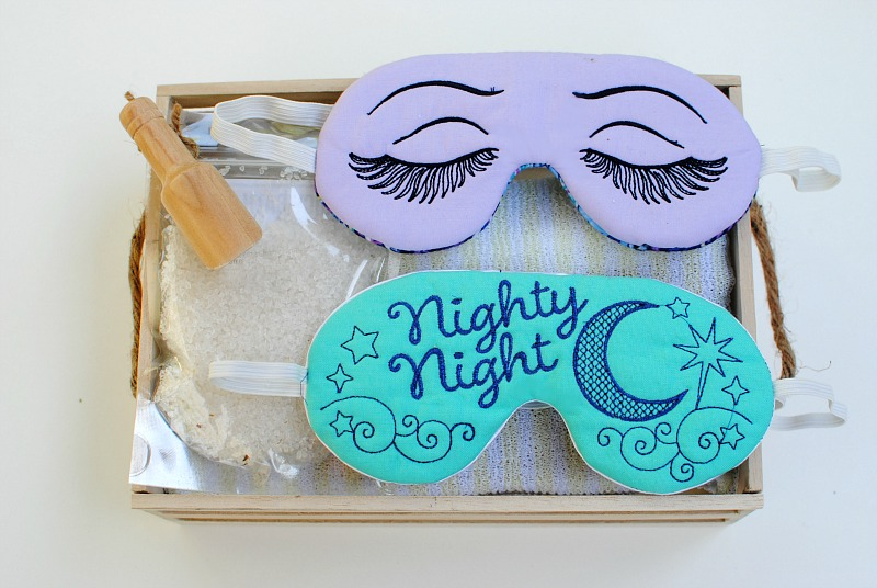 Trash To Couture Mother S Day Diy Embroidered Sleep Masks