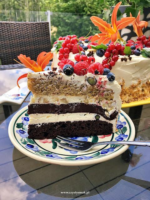 Tort z biszkoptem bezglutenowym