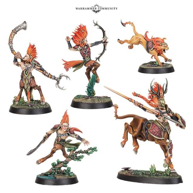 Beastgrave Warband: Skaeth's Wild Hunt
