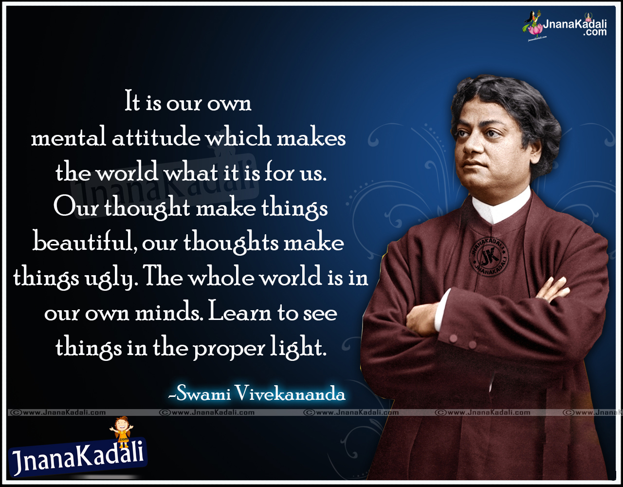 Swamy Vivekananda positive Thinking Quotes in English ...