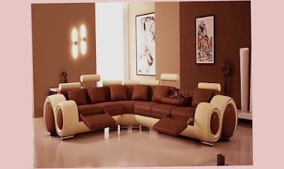 Modern Brown Popular Paint Colors For Living Rooms 2014 Shiny Floor Fantastic Photo