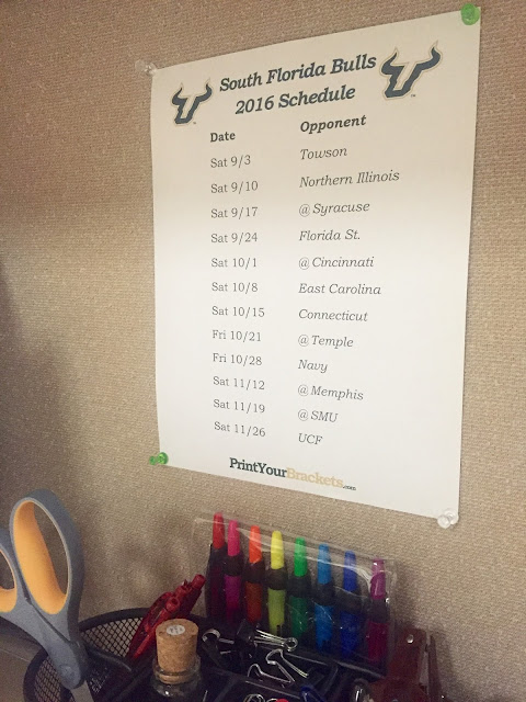 college football team schedule
