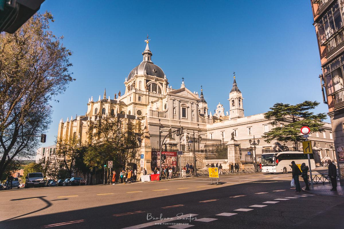 Catedral de Nuestra Senora de la Almudena - Madrid, Spain