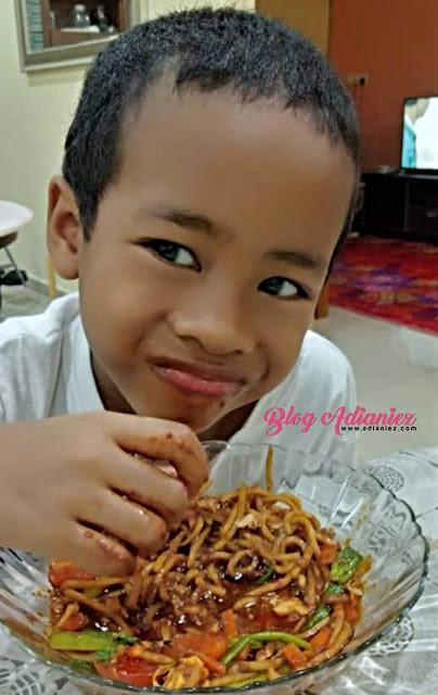 Mee Goreng Basah Aneka Sayur   Untuk Mami