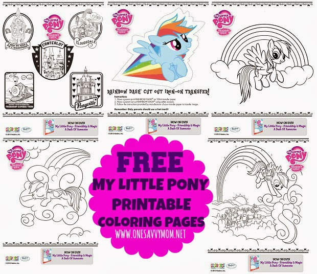 My Little Pony Free Printable Coloring Pages U0026 Activity Sheets