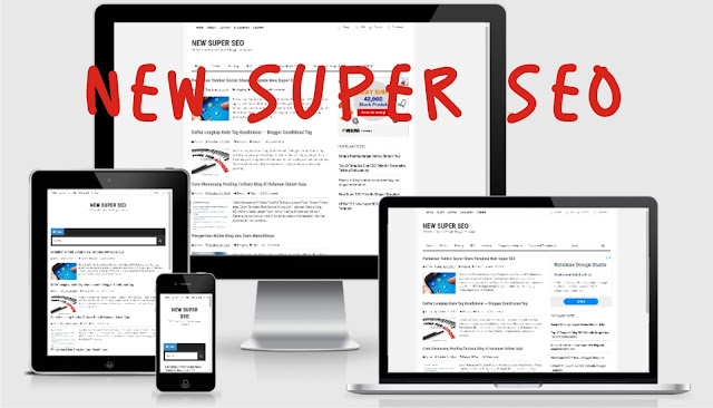New Super SEO Template Blogger [ Free Download ]