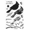 Hero Arts Color Layering Cardinal stamp set
