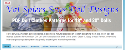 valspierssews doll clothes customising blogger template