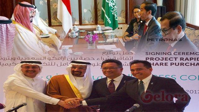Jokowi Melobi sampai ke Pangeran Arab, Saudi Aramco Lebih Pilih Malaysia Ketimbang RI