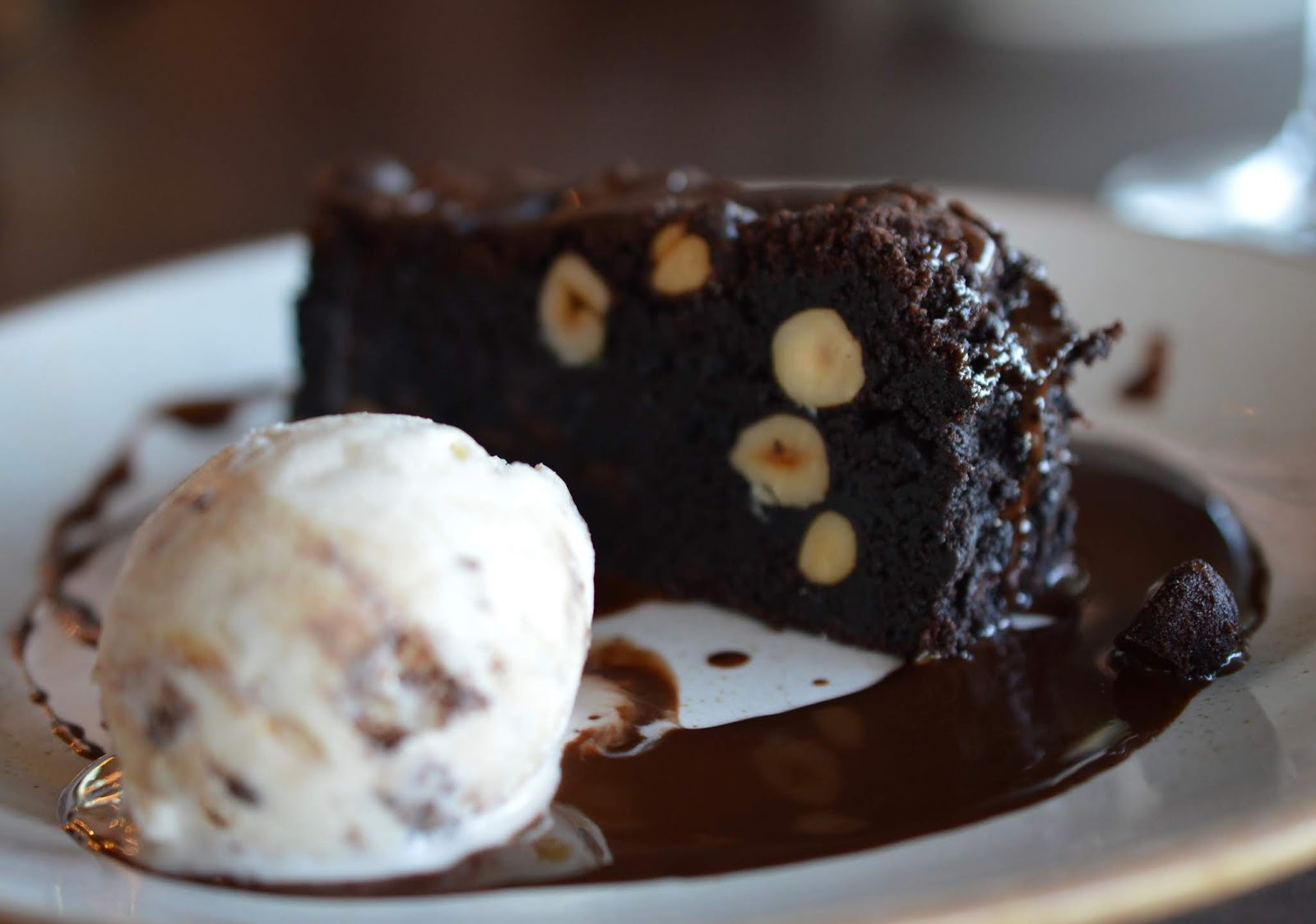 A Luxury Family Staycation at Rockliffe Hall Hotel  - clubhouse chocolate brownie
