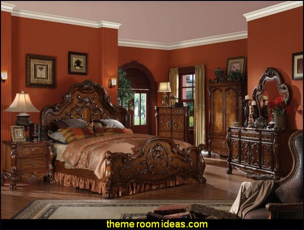 Dileo Platform Configurable Bedroom Set old world style tuscan bedroom furniture