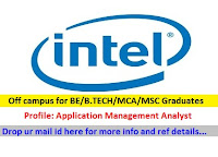 Dell-freshers-application-management-analyst