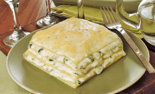 receita de lasanha 4 queijos
