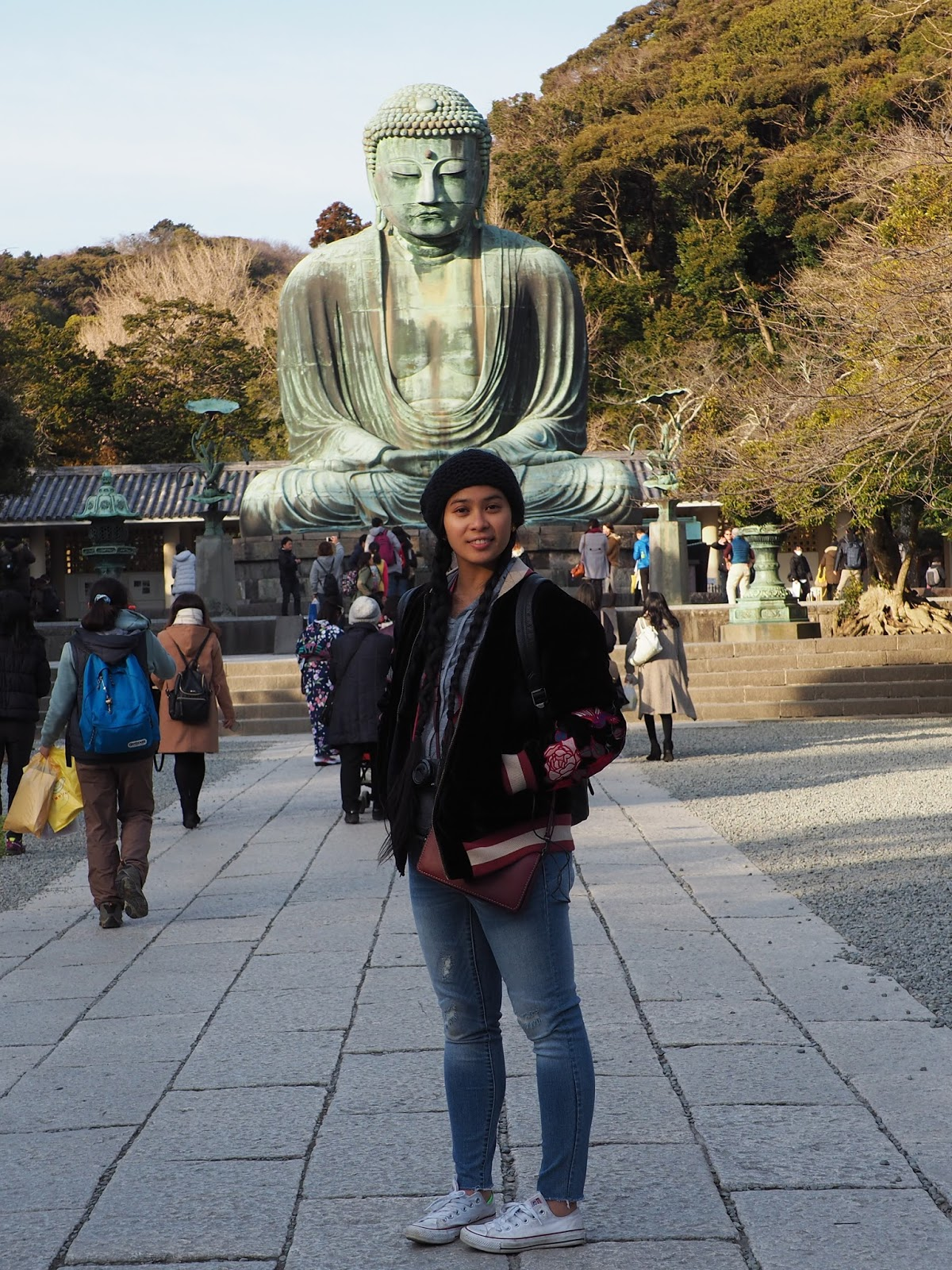 Daibutsu kotokuin temple japan tokyo travel ootd