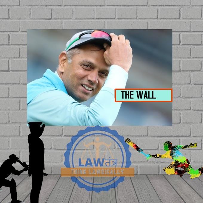 The Great Wall of India- Rahul Dravid