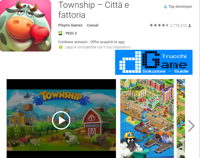 Trucchi Township Mod Apk Android v4.5.2