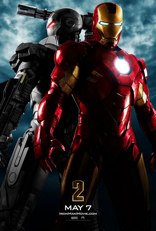 Iron Man 2 2010 movie Poster