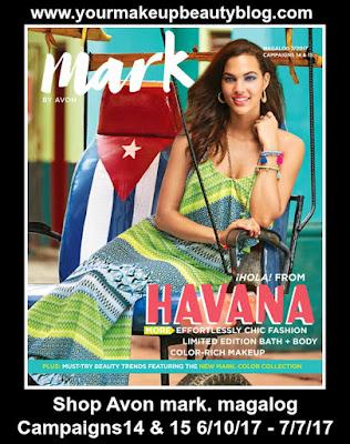 Shop Avon mark. magalog Campaigns 14 & 15 | Good Through 7/717