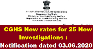 notification-of-cghs-rates-for-25-new-investigations