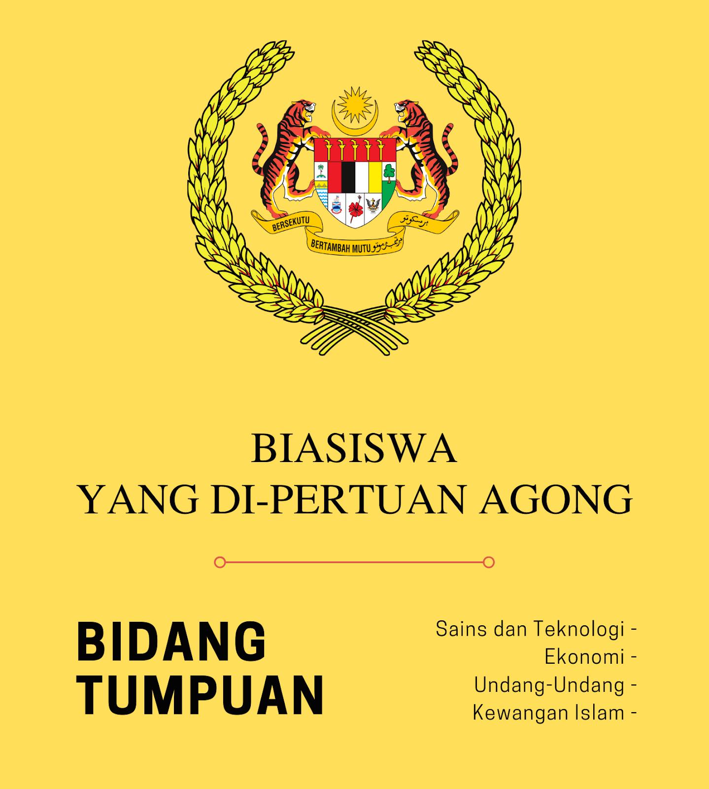 Permohonan Biasiswa Yang Di Pertuan Agong Dibuka Pada 10 Februari 2020