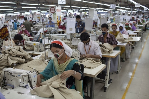 Ready-made garment sector of Bangladesh