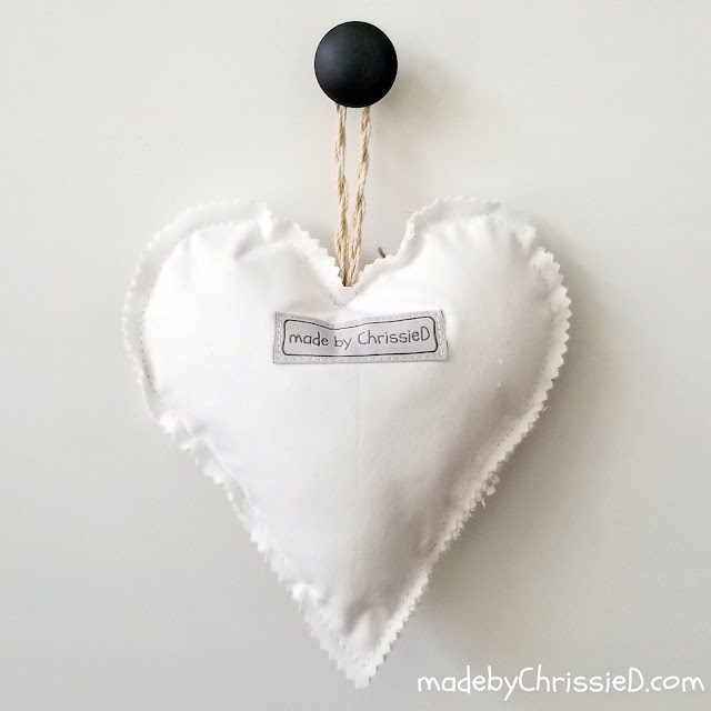 Textural Heart by www.madebyChrissieD.com