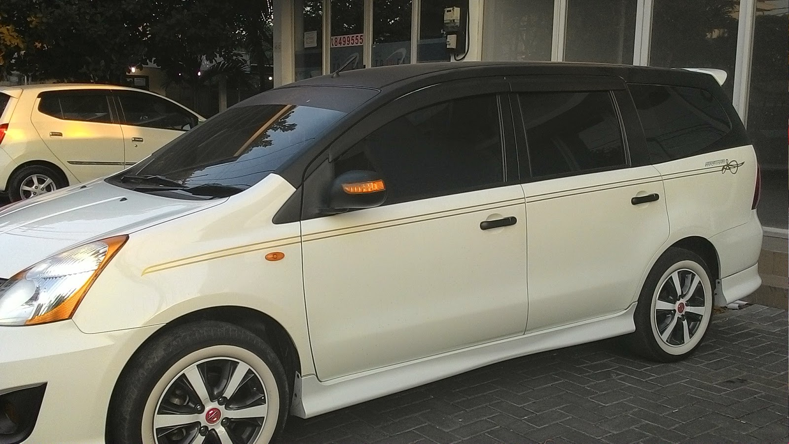 Cutting Sticker Grand New Avanza Ukuran Veloz 84 Modifikasi Stiker Mobil Putih 2017
