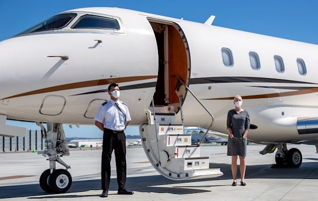 benefits traveling private jet during coronavirus pandemic plane advantages