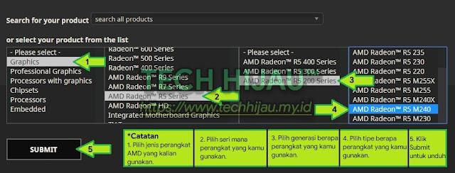 Tech Hijau™ — Cara Unduh Sesuai Dengan Seri Perangkat AMD