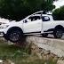 Susto: Condutora perde controle de veículo e por pouco grave acidente não é registrado em Patos
