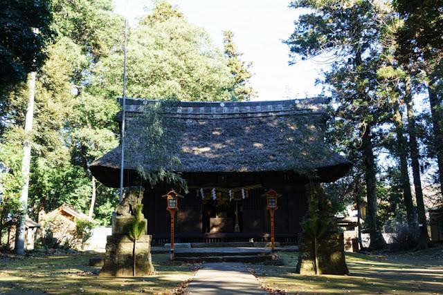 国王神社(茨城)の拝殿