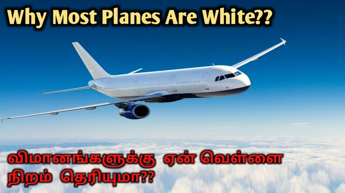 Why Most Planes Painted Are White??